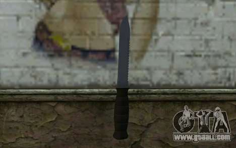 Combat knife (DayZ Standalone) v2 for GTA San Andreas