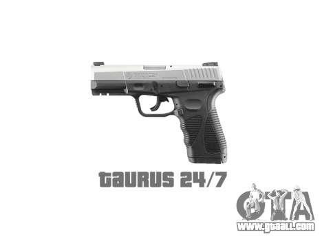 Pistol Taurus 24-7 titanium icon1 for GTA 4 third screenshot