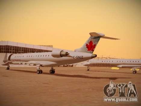 Bombardier CRJ-700 Air Canada Express for GTA San Andreas inner view