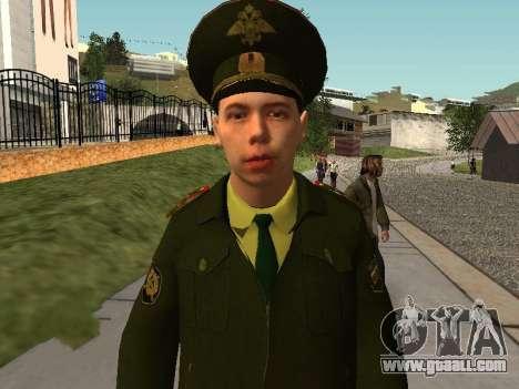 Lieutenant Sokolov for GTA San Andreas second screenshot