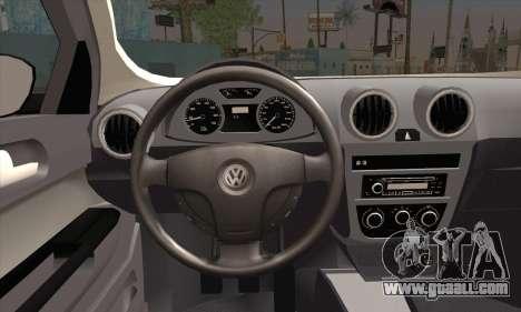 Volkswagen Saveiro Slammed for GTA San Andreas back left view