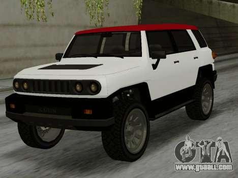 Karin BJ XL for GTA San Andreas