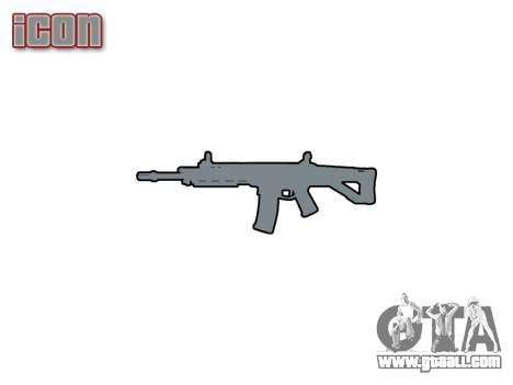 Machine Magpul Masada ACW-R icon1 for GTA 4 third screenshot