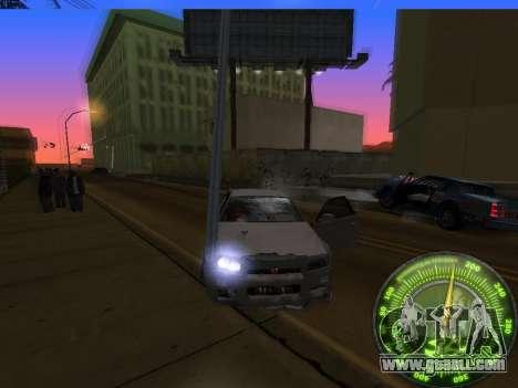 Speedometer HITMAN for GTA San Andreas seventh screenshot