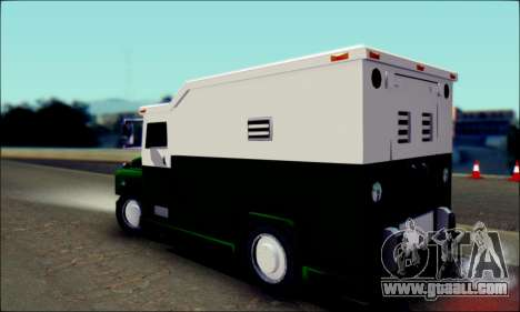 Shubert Armored Van from Mafia 2 for GTA San Andreas left view