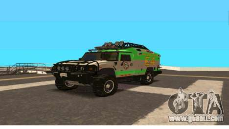 Hummer H2 Ratchet Transformers 4 for GTA San Andreas