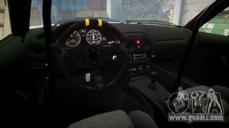 Mazda MX-5 Miata NA [Updated] for GTA 4 back view