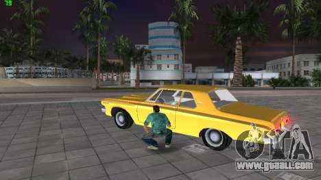 Dodge 330 Max Wedge Ramcharger 1963 for GTA Vice City back left view