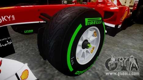 Ferrari F138 v2.0 [RIV] Massa TIW for GTA 4 back view