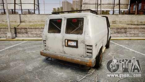 Kessler Stowaway Rusty for GTA 4 back left view
