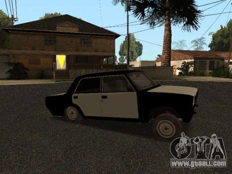 VAZ 2107 Hobo for GTA San Andreas left view