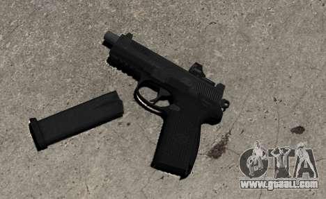 Gun FNP-45 for GTA 4