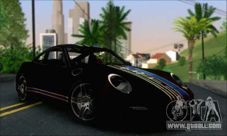 Porsche 997 Turbo Tunable for GTA San Andreas upper view