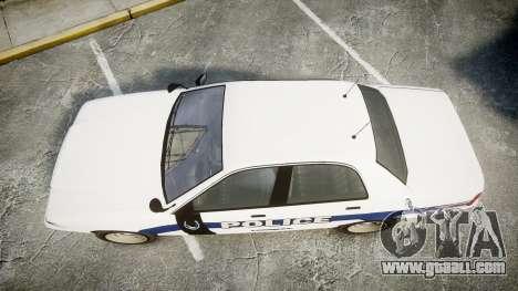 GTA V Vapid Cruiser LP [ELS] Slicktop for GTA 4 right view