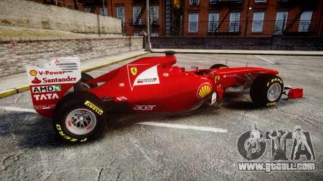 Ferrari 150 Italia Track Testing for GTA 4 left view