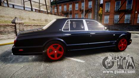 Bentley Arnage T 2005 Rims4 for GTA 4 left view
