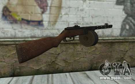 PPSH-41 v1 for GTA San Andreas second screenshot