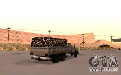 Barracks with four doors for GTA San Andreas right view