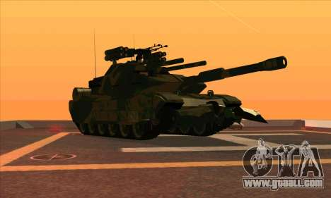 M1A1 Abrams Brawl (Transformers) for GTA San Andreas left view