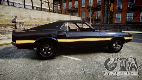 Shelby GT500 428CJ CobraJet 1969 for GTA 4 left view
