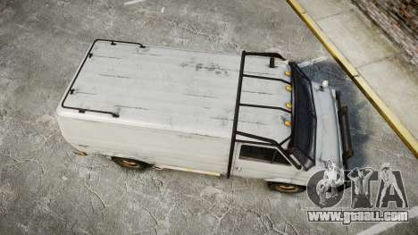 Kessler Stowaway Rusty for GTA 4 right view