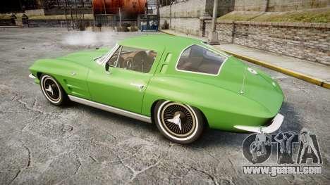 Chevrolet Corvette Stingray 1963 for GTA 4 left view