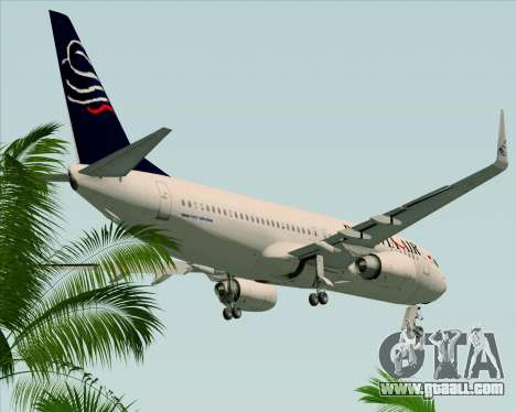 Boeing 737-800 Batavia Air for GTA San Andreas side view