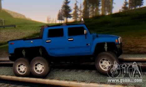 Hummer H6 Sut Pickup for GTA San Andreas