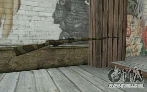The Mosin-v16 for GTA San Andreas second screenshot