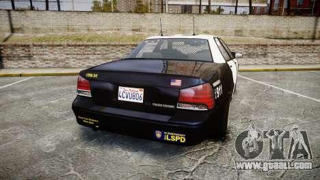 GTA V Vapid Cruiser LSP [ELS] Slicktop for GTA 4 back left view