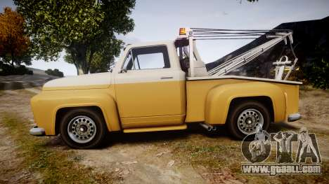 Vapid Tow Truck Jackrabbit v2 for GTA 4 left view