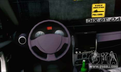 Dacia Sandero XIC for GTA San Andreas right view