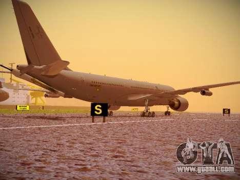 Airbus KC-45A (A330-203) Australian Air Force for GTA San Andreas back view