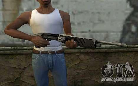 SPAS-12 from Battlefield 3 for GTA San Andreas third screenshot