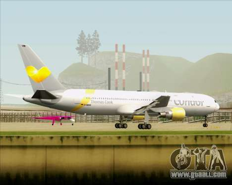 Boeing 767-330ER Condor for GTA San Andreas upper view