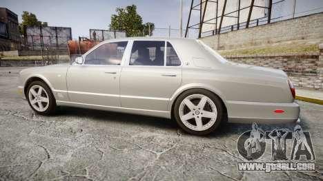Bentley Arnage T 2005 Rims3 for GTA 4 left view