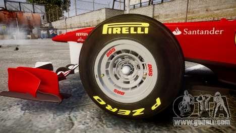 Ferrari 150 Italia Track Testing for GTA 4 inner view