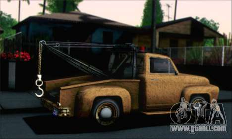 GTA 5 Towtruck Worn for GTA San Andreas left view