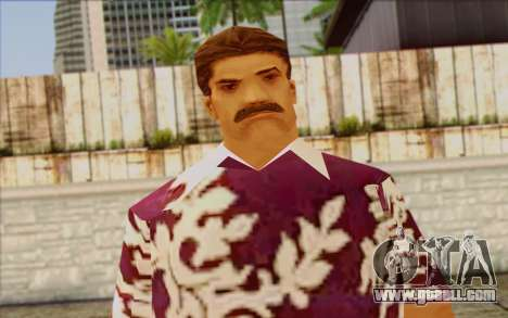 Diaz Gang from GTA Vice City Skin 1 for GTA San Andreas third screenshot