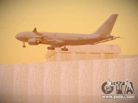 Airbus KC-45A (A330-203) Australian Air Force for GTA San Andreas wheels