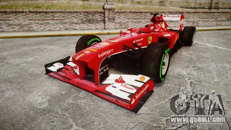 Ferrari F138 v2.0 [RIV] Massa TIW for GTA 4