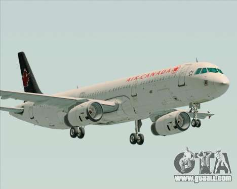 Airbus A321-200 Air Canada for GTA San Andreas