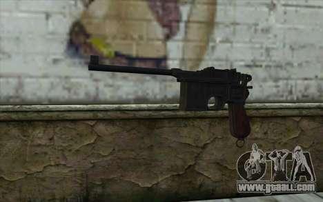 Mauser C96 v2 for GTA San Andreas