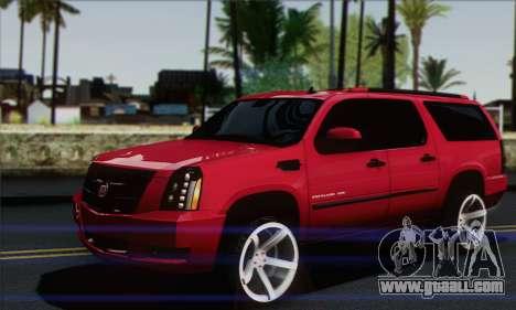 Cadillac Escalade ESV for GTA San Andreas