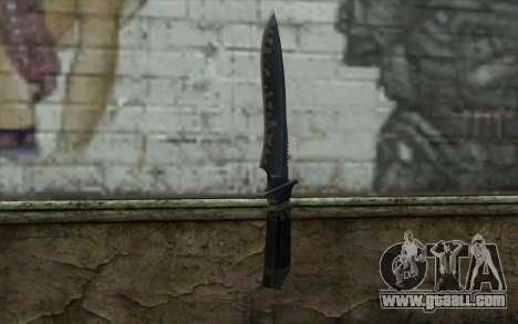 Knife from CS:S Bump Mapping v2 for GTA San Andreas
