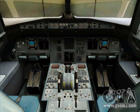 Airbus A320-212 Condor for GTA San Andreas interior