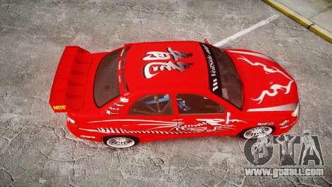 Subaru Impreza WRX STI Street Racer for GTA 4 right view