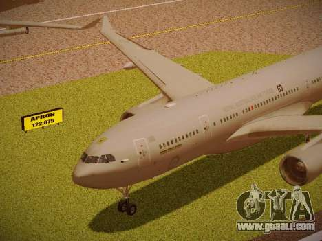 Airbus KC-45A (A330-203) Australian Air Force for GTA San Andreas inner view