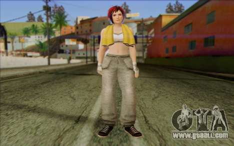 Mila 2Wave from Dead or Alive v16 for GTA San Andreas