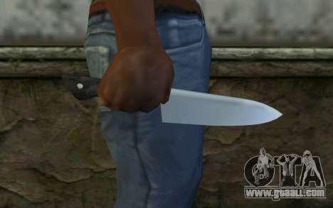 Kitchen Knife from Hitman 2 for GTA San Andreas third screenshot